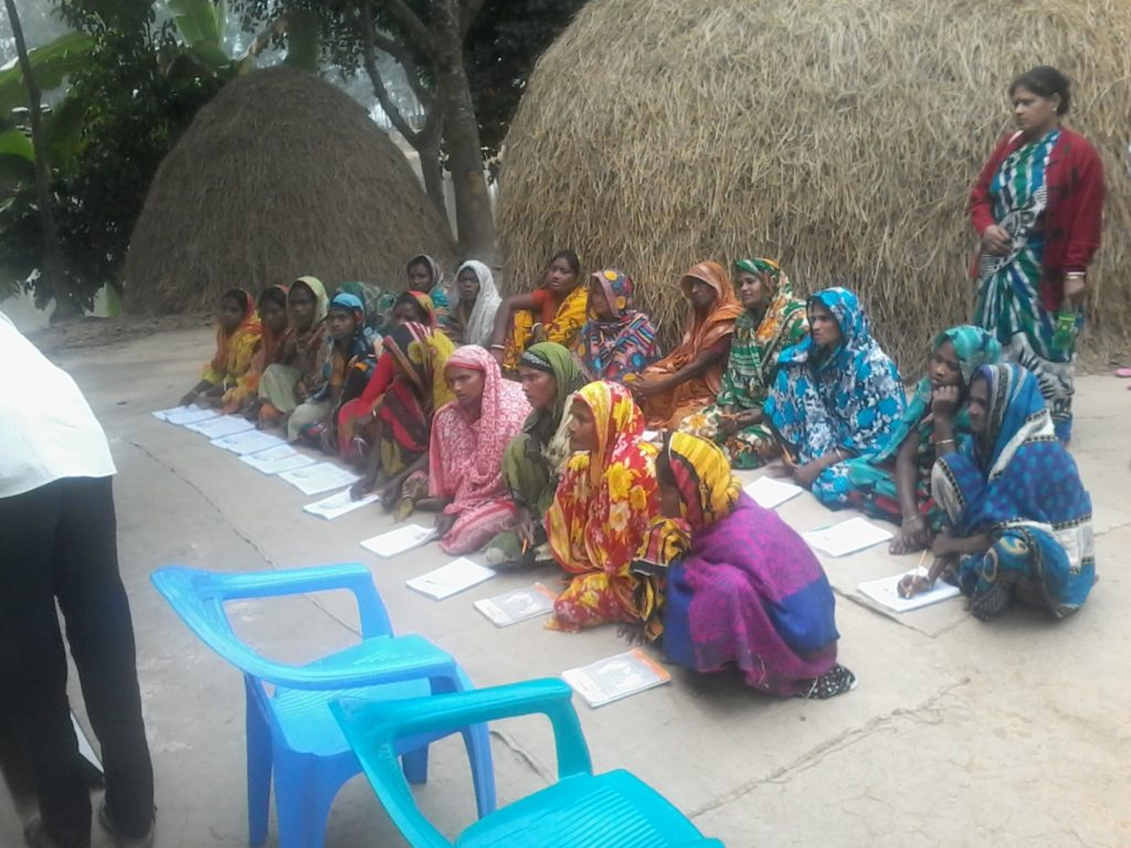 Facilitating adult literacy program (rural areas)