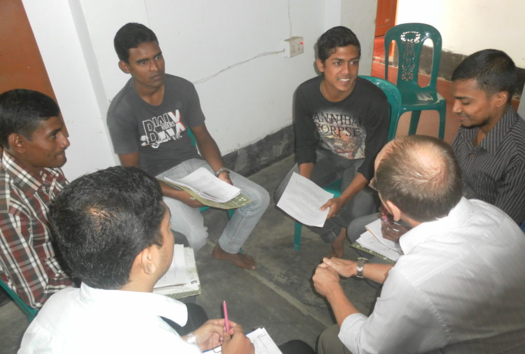 SIM Bangladesh English classes